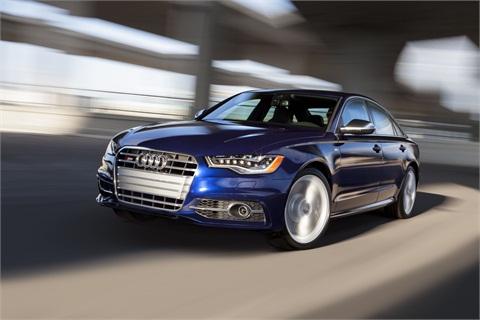 Audi's A6.