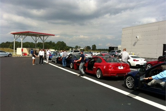 The full BMW model line was available to fleet professionals in Spartanburg, S.C. Photo courtesy of BMW.
