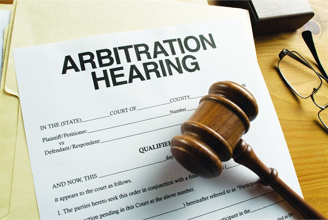 Arbitration is a form of alternative dispute resolution, where two sides look outside the court system to resolve a conflict.