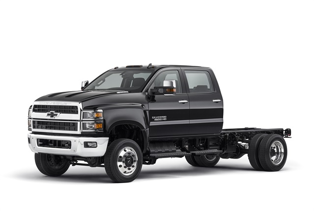 Photo of 2019 Silverado 4500HD courtesy of Chevrolet.