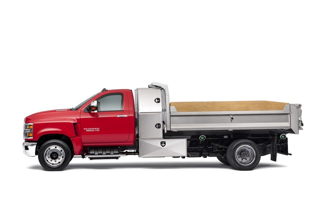 Photo of 2019 Silverado 6500HD courtesy of Chevrolet.