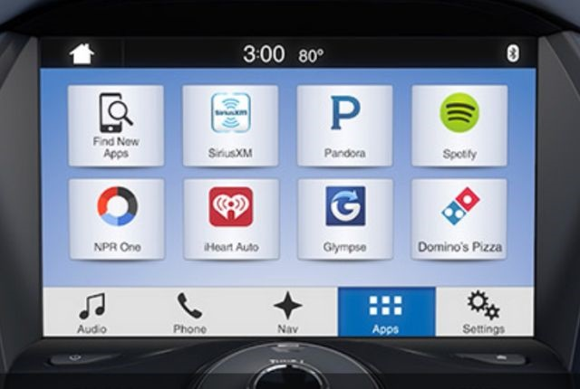 Screenshot of AppLink courtesy of Ford.