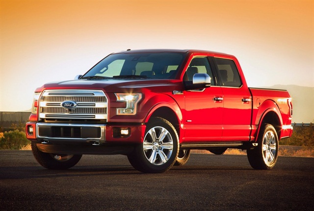 The total light-duty truck market (which includes vehicles such as the Ford F-150) depreciated by 10 percent and the full-size pickup segment depreciated by 4.9 percent. Photo courtesy of Ford Motor Co.
