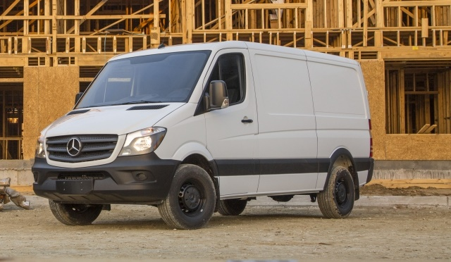 European-style vans, which were engineered for the narrow streets of Europe, adapt well to crowded urban environments. (Photo courtesy of Mercedes-Benz)