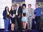 Fleet Visionary recipients accepting accepting their awards at the AFLA 2017 conference. Photo courtesy of AFLA.