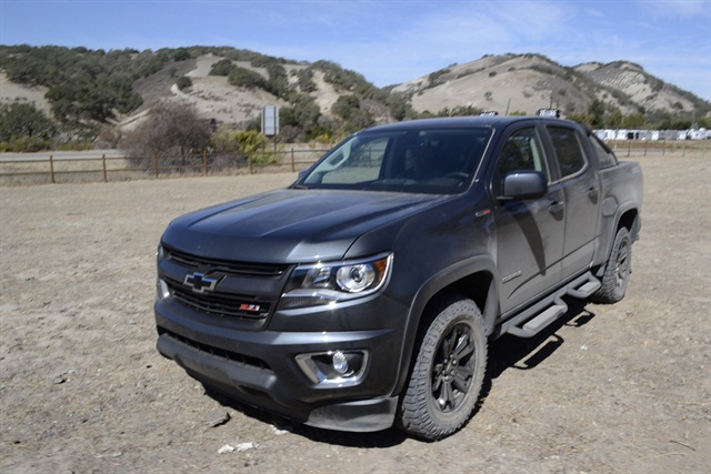 A 2016 Colorado Duramax Diesel after an off-road drive testing the smart diesel exhaust brake. Photo by Chris Wolski.