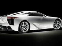 Lexus LFA Supercar to Make North American Debut at 2009 SEMA and Los Angeles International Auto Shows