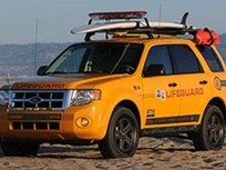 Ford Escape Hybrid Delivers Total Package for Los Angeles County Ocean Lifeguards