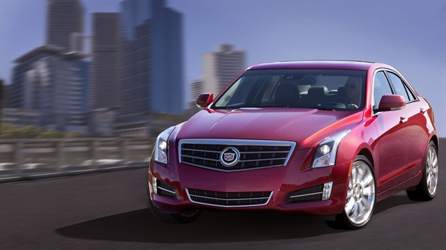 The 2013 Cadillac ATS.
