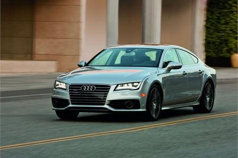 The Audi A7.