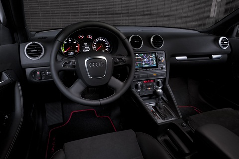 The e-tron will feature the Audi connect infotainment and navigation system.