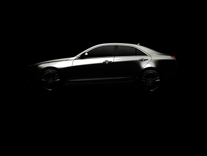 The teaser photo of Cadillac's new compact sedan, the currently codenamed ATS.