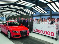 Five Millionth Audi A4 Leaves the Assembly Line