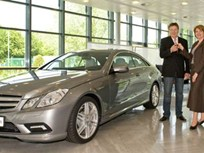 First Mercedes-Benz E-Class Coupe Delivered