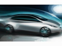 Infiniti Releases Sketch of Future Luxury Electric Vehicle
