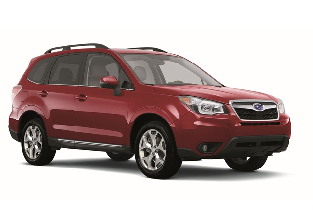 Photo of 2015 Forester courtesy of Subaru.