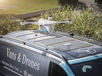 Mercedes-Benz Vans Tests Drone-Delivery Program