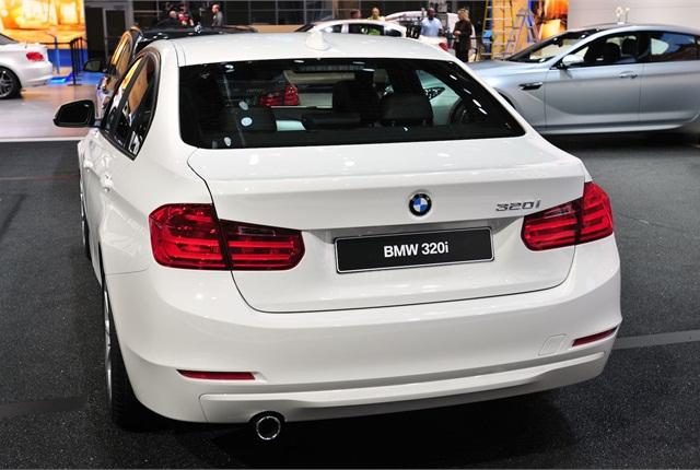 BMW said it made aerodynamic improvements  in the back.