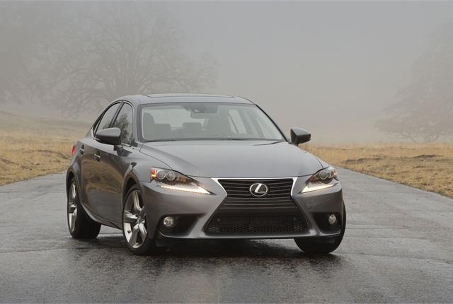 The 2014 Lexus IS 350. Photo courtesy Toyota.