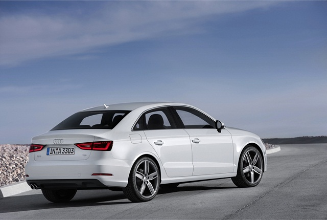 For MY-2015, Audi said it completely redesigned the A3 and tailored it for the U.S. market. The 2015 A3 is 175.5 inches long and has a 103.4-inch wheelbase. Photo courtesy Audi of America.