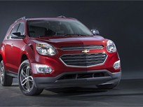 GM Updates Equinox Compact SUV for 2016