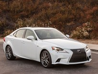 Lexus Adds Turbo IS Luxury Sedan for 2016