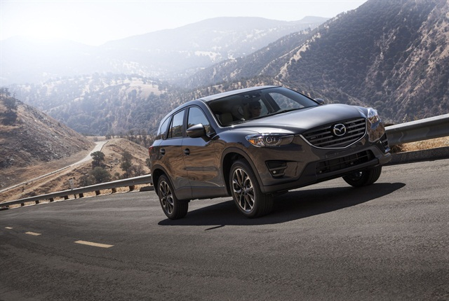 Photo of 2016 CX-5, courtesy of Mazda.