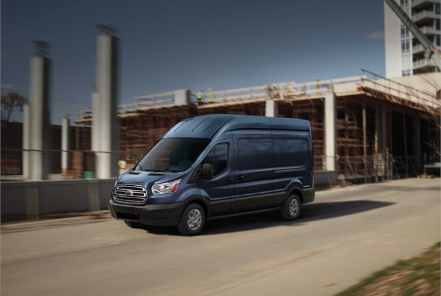 Photo of Ford Transit van courtesy of Ford.
