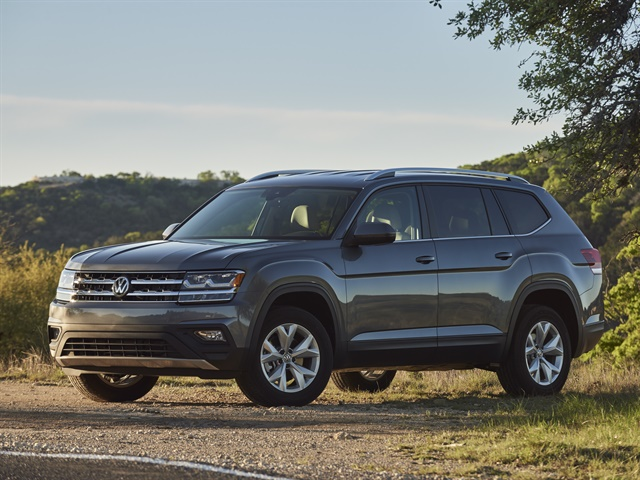 Photo of 2018 Atlas courtesy of VW.