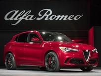 Base 2018 Alfa Romeo Stelvio SUVs to Debut in N.Y.