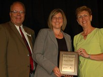 Baxter Healthcare's Fleet Manager Receives 2014 Fleet Safety Award