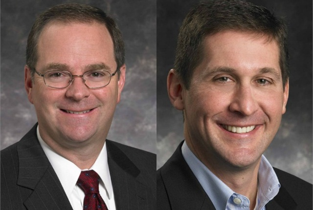 Mark Bryan (left) and Tim McHugh