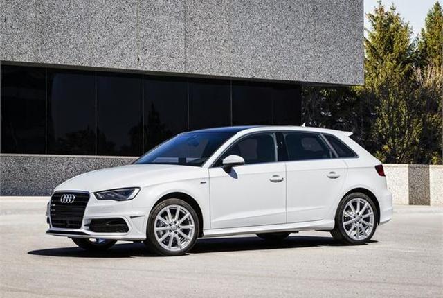 Photo of 2014 Audi A3 Sportback TDI courtesy of VW.