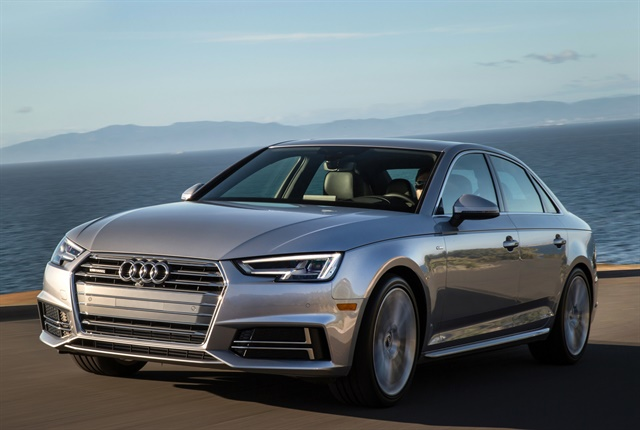 Photo of 2018 A4 courtesy of Audi.