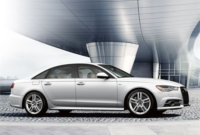Photo of 2016 A6 courtesy of Audi.