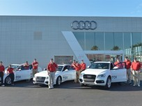 Audi Tests 2014 TDI Models in Cross Country Challenge, Achieving Significant Fuel Economy Results