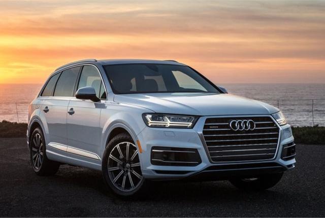 Photo of 2017 Q7 courtesy of Audi.