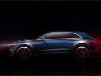 Audi to Show Q8 Full-Size SUV Concept