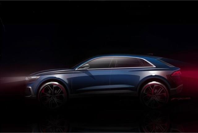 Photo of Q8 concept courtesy of Audi.