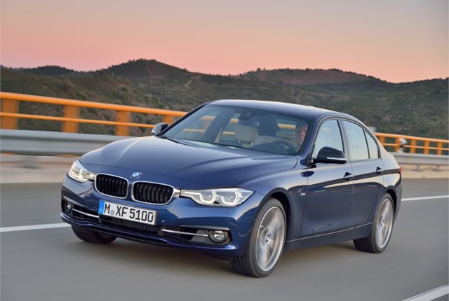 Photo of 2016 3 Series courtesy of BMW.
