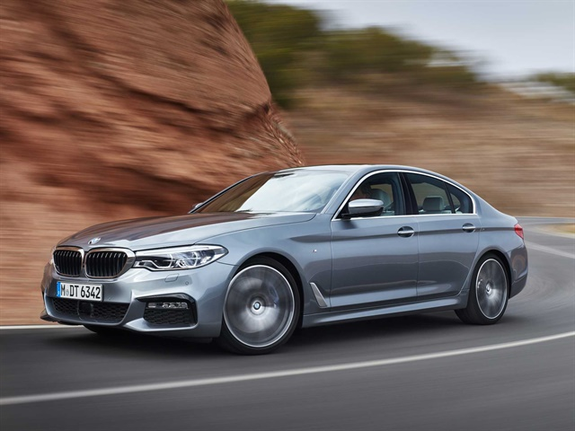 Photo of 2017 5 Series courtesy of BMW.
