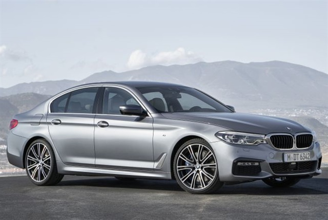 Photo of 2018 5 Series courtesy of BMW.