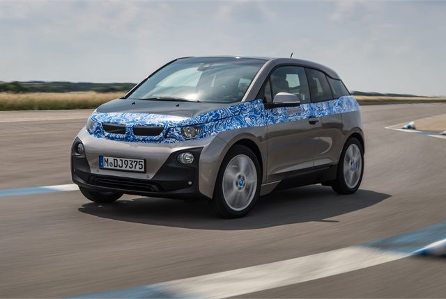BMW said its all-new i3 will be availble in the second quarter of 2014. Photo courtesy BMW.