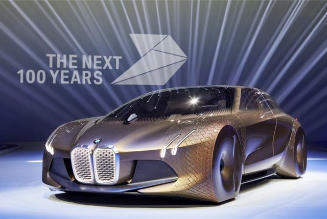 Photo of Vision Next 100 Concept courtesy of BMW.