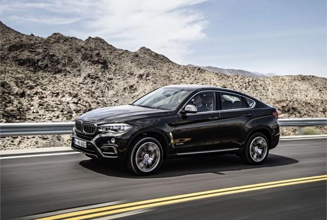 Photo of 2015 X6 xDrive50i courtesy of BMW.
