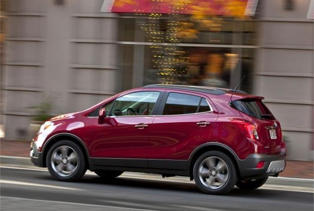 Photo of 2015 Buick Encore courtesy of GM.