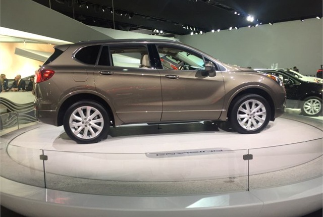 Photo of 2016 Buick Envision by Mike Antich.