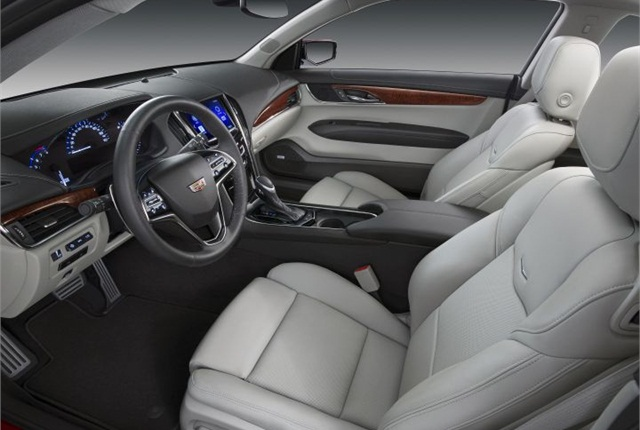 Photo of 2015 Cadillac ATS Coupe courtesy of GM.
