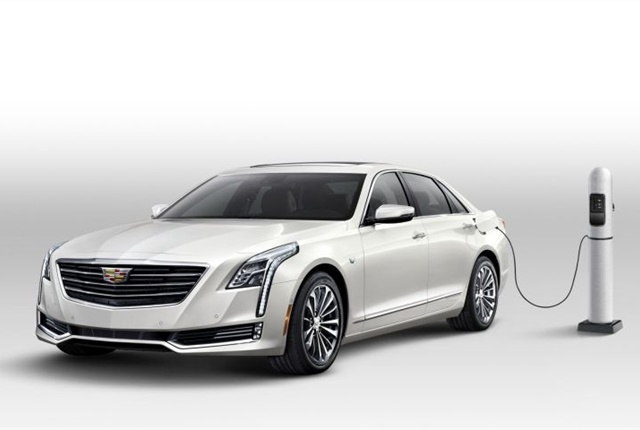 cadillac 39 s 2017 ct6 plug in hybrid can drive 400 miles top news hybrids vehicles battery. Black Bedroom Furniture Sets. Home Design Ideas