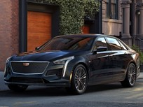 2019 Cadillac CT6 V-Sport Offers Exclusive V-8